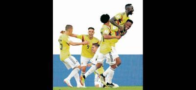 La 'cabeza de oro' de Yerry Mina le entregó a Colombia la clasificación a los octavos de final del Mundial de Rusia, luego de marcar el tanto del triunfo sobre Senegal.