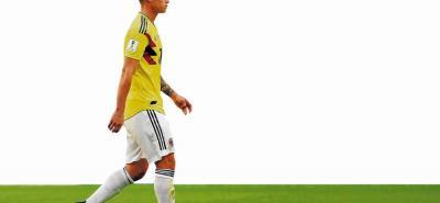 El volante colombiano James Rodríguez viene siendo valorado por los médicos de la selección sobre su lesión muscular, y se espera tener hoy un parte de los galenos y saber si estará o no para jugar ante Inglaterra el martes en Moscú.