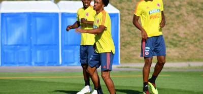 La selección Colombia se entrenó ayer en Kazán, preparando su partido del próximo martes ante Inglaterra por el cupo a cuartos de final.