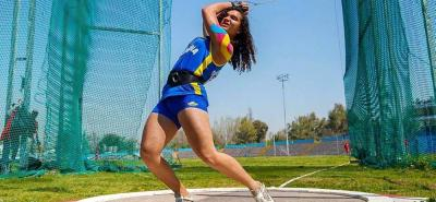 Carolina Ulloa consiguió ayer el metal dorado en lanzamiento de martillo del Campeonato Suramericano sub 18 que se disputó este fin de semana en Cuenca, Ecuador.