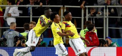 Yerry Mina igualó a Breitner como defensa más goleador en un mismo Mundial