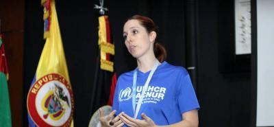 Talleres formativos sobre protección internacional de personas refugiadas, realizados en la UNAB.