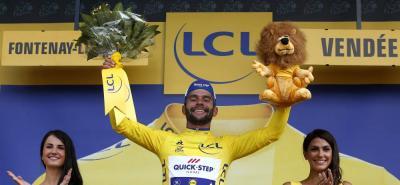 Gaviria es el primer 'novato' en vencer en la etapa inicial de la 'Grande Bouclé'.