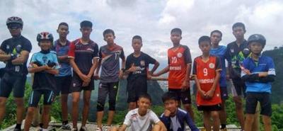 Jabalíes rebeldes, el equipo de fútbol que terminó en una cueva