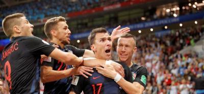 Croacia lo dio vuelta y venció 2-1 a Inglaterra
