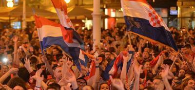 Así festejó Croacia su mayor logro en la historia del fútbol