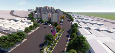 Villa Renacer tendrá amplias zonas verdes, caminos peatonales, 56 parqueaderos, zonas deportivas y recreativas.