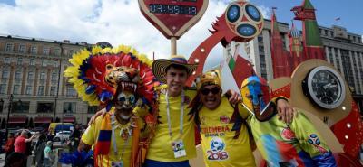 Los colombianos 'se metieron la mano al bolsillo' en Rusia
