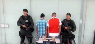 Capturados dos presuntos atracadores de taxista en Bucaramanga