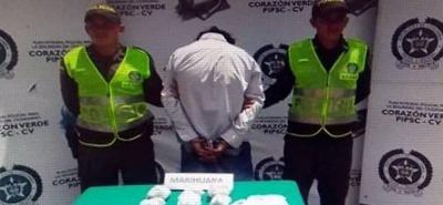 'Guadaña' fue dejado a disposición de la Fiscalía.