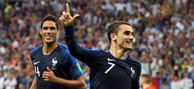 La Fifa eligió a Griezmann como el mejor jugador de la final del Mundial