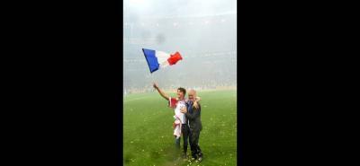 Didier Deschamps fue campeón como jugador en 1998 y ahora como entrenador.