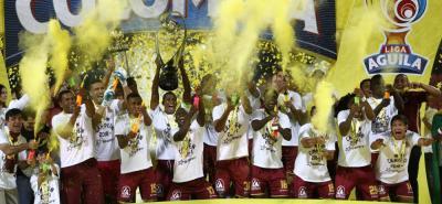 Tolima sorprendió en el primer semestre al ganar la Liga Águila I en una apretada final ante Atlético Nacional. El actual campeón debutará el 25 de julio precisamente ante el 'verde paisa'.