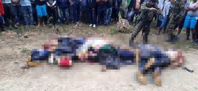 El Fiscal General asegura que se tienen las pruebas para la imputación de cargos contra los seis cabecillas del ELN acusados de ser responsables de la masacre en Argelia, Cauca.