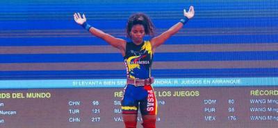 Este viernes la delegación colombiana ya sumaba tres medallas de oro: una en ciclismo, con Rodrigo Contreras, y dos en pesas, con Ana Segura y Carlos Berna.