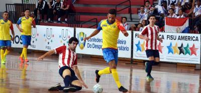 El equipo de fútbol sala de las Unidades Tecnológicas de Santander se estrenó ayer en el torneo de la disciplina de los Juegos Panamericanos Universitarios, goleando por 10-1 a su similar de Paraguay, mostrando fortaleza y poder ofensivo.