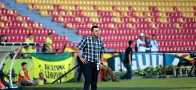 El entrenador del Atlético Bucaramanga, Carlos Mario Hoyos, se mostró conforme con la actuación de su equipo en el primer partido de la Liga Águila II de 2018, aunque reconoció que aún puede dar más.