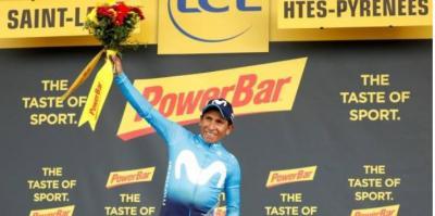 """""""Seguimos luchando, aún queda Tour"""": Nairo Quintana tras ganar la etapa en los Pirineos"""