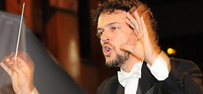 Director invitado Rubén Darío Gómez