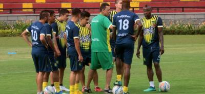 Atlético Bucaramanga prepara su segundo partido en la Liga Águila II de 2018. El equipo 'Leopardo' debutó con empate ante Junior y ahora visita a Once Caldas, en Manizales.