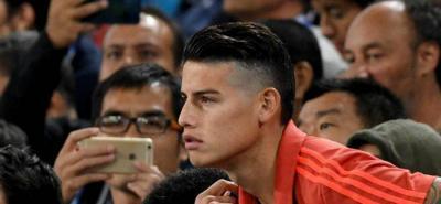 James Rodríguez le debe 11,65 millones de euros al fisco español