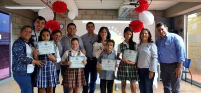 La ganadora fue Marcela Jaimes del Colegio Diana Turbay y el segundo lugar para Paula Arciniegas del Serrano Muñoz Sede B.
