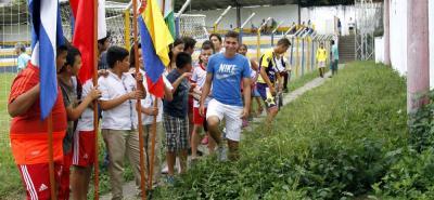 La lucha de Johan Caballero 'Pino' para llegar al fútbol profesional