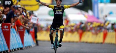 El esloveno Primoz Roglic fue el gran vencedor de la etapa 19 del Tour de Francia, y se acomodó en el tercer lugar de la general, confiando en sus capacidades para la contrarreloj y buscar seguir subiendo en el podio y lograr su mejor actuación en la 'Grande Bouclé'.