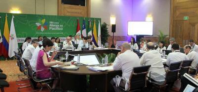 La XIII Cumbre de la Alianza del Pacífico se llevó a cabo en Puerto Vallarta (México) del 21 al 23 de julio y contó, además de la reunión de los Presidentes de los países miembros, con encuentro empresarial y jornada académica.