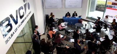 Santander y Antioquia concentran un mayor porcentaje de la capitalización de mercado de la BVC, de $388,3 billones.