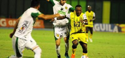 Alianza Petrolera y Leones ya se vieron las caras en el 2018, en un juego disputado en Barrancabermeja que le permitió a los 'aliancistas' imponerse 1-0.