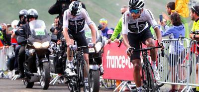 Pese a su juventud, no le quedó grande el Tour de Francia a Egan Bernal, quien terminó siendo fundamental para el triunfo de Geraint Thomas y el podio final de Christopher Froome.