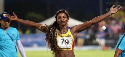 Caterine Ibargüen se quedó con el oro en los Centroamericanos