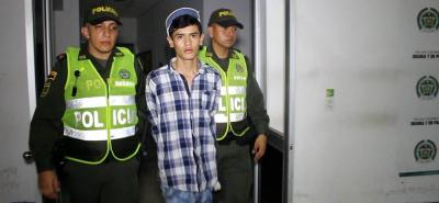 Un juez le dictó medida de aseguramiento intramural a alias 'Asawin', de 18 años.