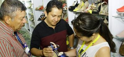 En Cenfer se realiza la Feria Internacional del Cuero, Calzado y Manufactura que organiza Asoinducals, mientras que Expocalzado está en el Club del Comercio, Neomundo y otras sedes.