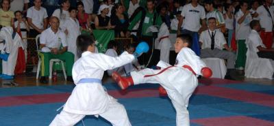 Este fin de semana se disputará en el coliseo Vicente Díaz Romero de Bucaramanga, el 2° Open Nokachi Karate Do 2018 con la participación de cerca de 400 deportistas.