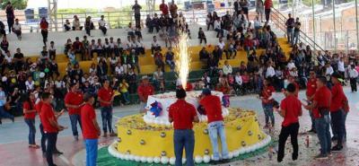 En las jornadas de celebración participaron las distintas instituciones municipales. Tres días de fiesta e integración.