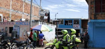 En el sector conocido como la 'Y' en el barrio Girardot se registró el homicidio de Luis Germán Uribe.