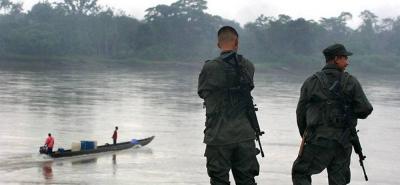 Secuestran a tres policías, un soldado y dos civiles en Antioquia
