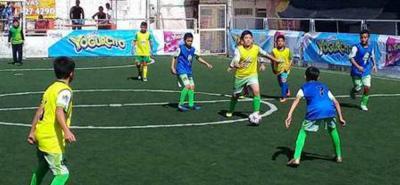Todo listo para el inicio de la Copa Yogurcito 2018 en Bucaramanga