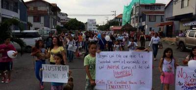 A partir de las 8:00 de la mañana se hará la marcha por las principales calles de la ciudad. La protesta llegará hasta el parque principal La Libertad.