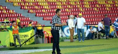 El entrenador del Atlético Bucaramanga, Carlos Mario Hoyos, confía en revertir el flojo inicio de sus dirigidos en la Liga Águila II de 2018. El estratega antioqueño reconoció que ante La Equidad el partido cambió luego de la expulsión de Quintero.