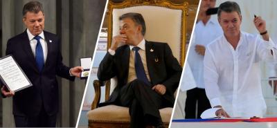 Juan Manuel Santos termina su Gobierno con una aprobación del 22 %