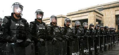 Más de 9.500 policías y militares custodiarían la posesión de Iván Duque