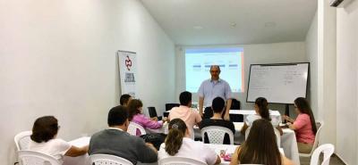 El seminario taller tuvo como lugar uno de los auditorios de la Cámara de Comercio de Bucaramanga, Seccional Socorro.