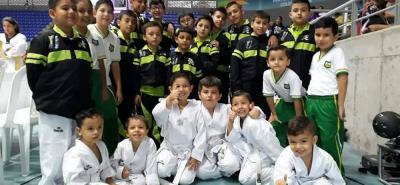 La nueva sangre del taekwondo santandereano tuvo actividad el pasado fin de semana.