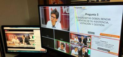 Esto dijo en Bucaramanga Claudia López sobre la Consulta Anticorrupción