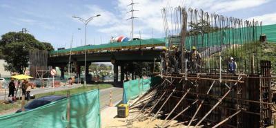El intercambiador PQP contará con obras de urbanismo en cada de una de las rotondas, gimnasios al aire libre, ciclorruta y un puente peatonal atirantado de cerca de 50 metros de altura.