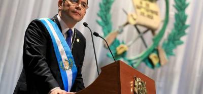 El presidente de Guatemala, Jimmy Morales, confía que la nueva solicitud de desafuero se aleje de intereses políticos.