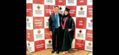 Mario Pinto y Laura Pinto.